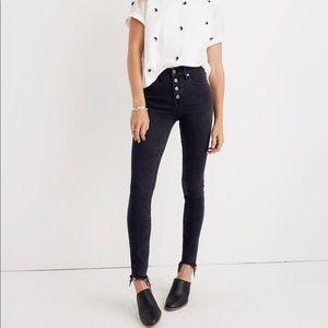 """Madewell Petite 9"""" Mid-Rise Skinny Jeans"""